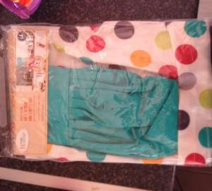 Chefs hat and apron for kids .50p in asda instore