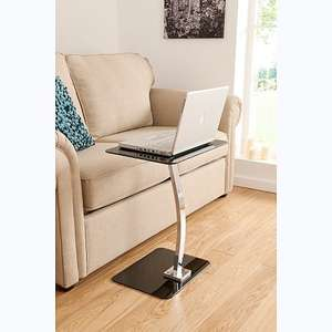 ASDA Glass Laptop Table - Black or Red £15.00 @ direct.asda.com
