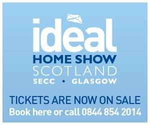 Two Free Tickets to Ideal Home Show Scotland. 23-26 May @ SECC Glasgow