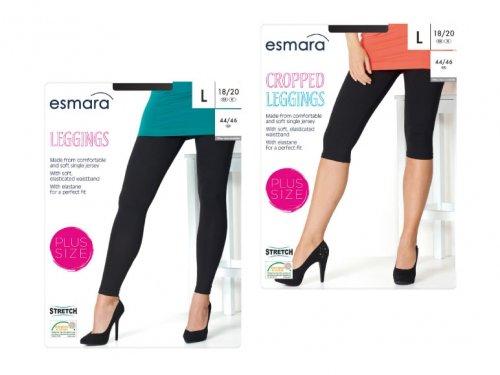 ESMARA Ladies' Leggings  PLUS size (18-28) £3.99 @ Lidl 21/04/14