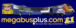 Megabus and Train Yorkshire to London £1.50
