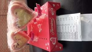 Thorntons heart chocolate lollipops 4for £1 heron foods