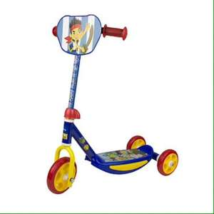 3 wheel scooter £12.50 via c&c @ the entertainer Jake pirates/ Spider-Man / Minnie Mouse/ hello kitty