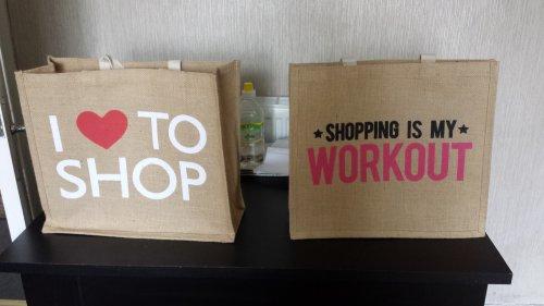 Jute bags £1 pound world