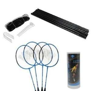 Carlton Badminton Set Four Player inc Net £14.99 delivered (63% off) @ Amazon (sold by Sports Direct)
