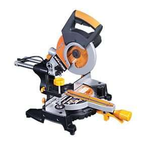 Evolution RAGE3-S 210mm Sliding Compound Mitre Saw 240V at Screwfix