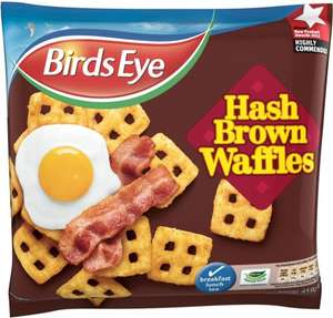 Birds Eye Hash Brown Waffles 459G £1.00 (Half Price) @ Sainsburys