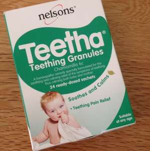 Nelson's Teetha 24 pack at Savers £2.99