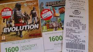 1600 Microsoft Xbox Points for £10 (down from £15). asda