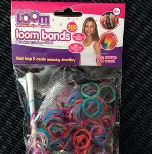 Crazy loom bands £1 - Poundland