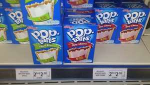 2 x 8 Pack Pop Tarts £2.50 @ Farmfoods