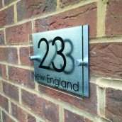 Personalised House Sign for £9.99 With Free Delivery (50% Off) @ Groupon uksignshop.com.