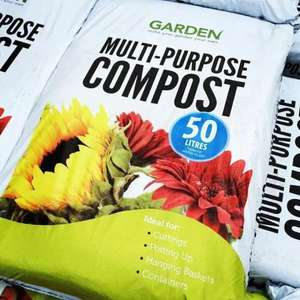 50l multi purpose compost £1.99 @ Home Bargains