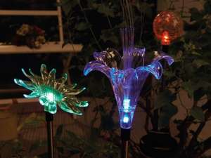 MELINERA Decorative Solar Light £3.99 @ LIDL (Plus more offer on Garden Equipments & other - see description for more info)