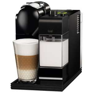Nespresso EN520 Lattissima Coffee Machine by De'Longhi, Black  £191.29 @ Joh  Lewis