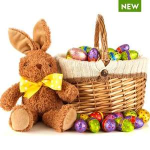 Easter bunny gift hamper / basket was £30 now £15 delivered @ Waitrose Wine & gifts