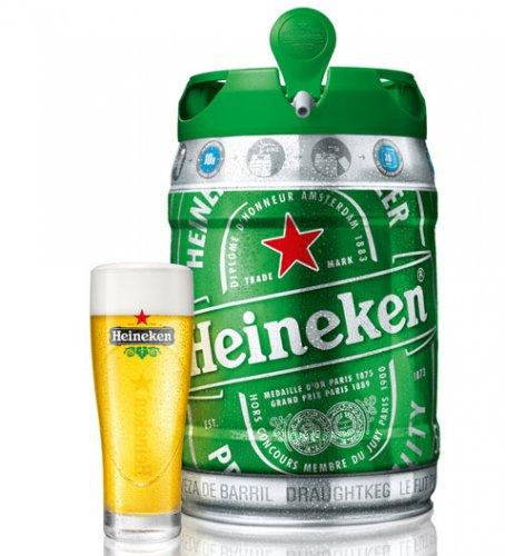 Heineken Kegs £11.99 each at Home Bargains
