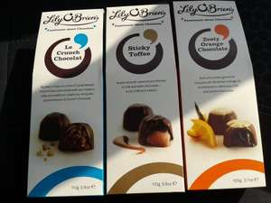 Lily O'Briens Chocolates 110g 50p @ Asda instore