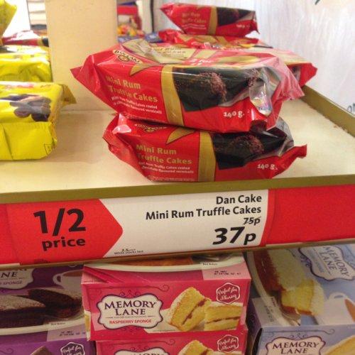 Dan Cake Mini Rum Truffle Cakes - 37p @ Morrisons