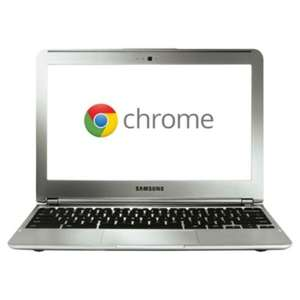 "Samsung XE303 Chromebook, E5250, 2GB, 16GB, 11.6"", 3G, Silver £206.10 @ tesco direct"