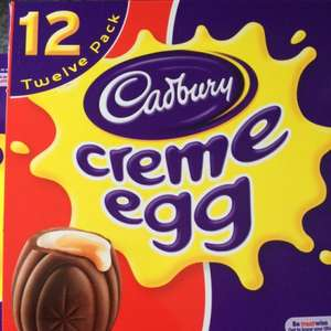 Box of 12 Cadburys Creme Eggs now ONLY £1.20 @ Sainsburys - 10p per Egg