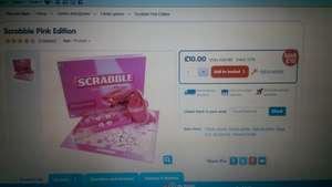 Scrabble Pink Edition Only £10 @ The Entertainer