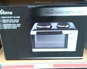 Holme 28L Mini Oven & Hob (2 Hotplates) Only £39 @ Morrisons