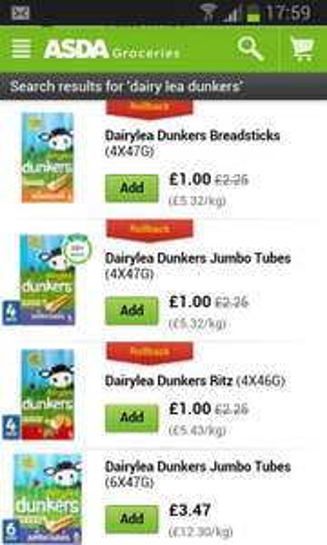 Dairylea dunkers £1 @ Asda