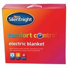 The Silentnight Comfort Control Electric Blanket Kingsize Was £30.00 Now £7.50 and Double Was £24.00 Now £5.00 Instore @ Tesco (Basildon)