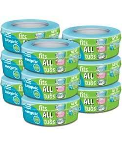 Sangenic Refill Cassettes pack of 9 for £21.99 at Argos.