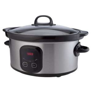 4.5 Litre Digital Slow Cooker at Sainsburys.co.uk.  £14.99 Click & Collect.  Down from £39.99.