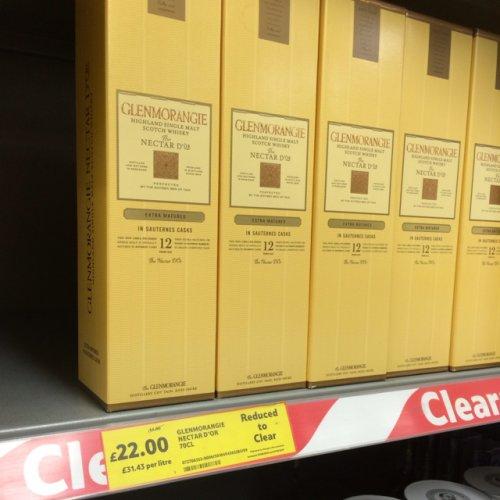 Glenmorangie Nectar D'or 70cl £22 @ Tesco
