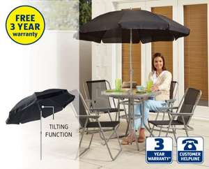6 Piece Patio Furniture Set £49.99 @ Aldi From 1st May
