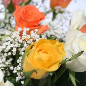 Mixed Roses Delivered for just £13.99 @ ValueFlora