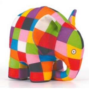Squishy Mushy Argos : Cute 20cm Elmer soft toy elephant ?6.99 @ Argos with FREE delivery - HotUKDeals