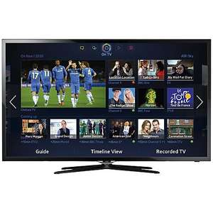 "Samsung UE40F5500 LED HD 1080p Smart TV, 40"" with Freeview HD, DLNA and Wifi from John Lewis with 5 Yr Guarantee  for £379 after price match"