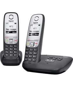 Gigaset A415A Cordless Telephone with Answer Machine - Twin £22.49 @ Argos