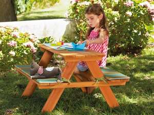 Kids picnic table £24.99 @ Lidl on 1st May