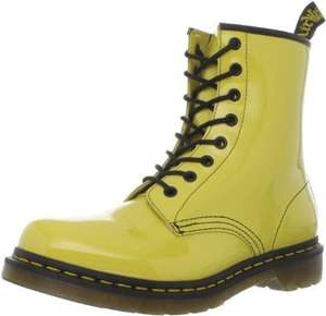 Dr Martens Women's 1460 Patent Boots - Sun Yellow £41.43 @ Amazon (see post for other colours/prices)
