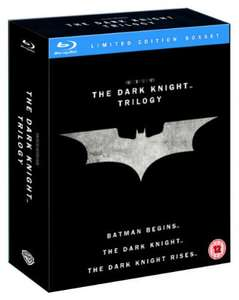 The Dark Knight Trilogy - Blu-Ray boxset: £15 delivered @ Tesco