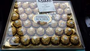 Ferrero rocher 42 box £6.99 B&M