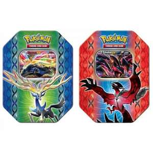 Pokemon X&Y Trading Card Tins £9.00 instore @ Tesco