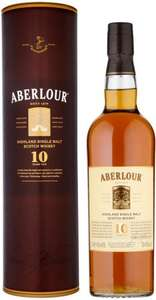 Aberlour Malt Whisky 10 Years Old (70cl) was £31.99 now £20.00 @ Morrisons