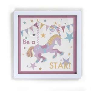 Kids Circus Parade Collection Filled Frame £2.24 (75% off) @ Dunelm Mill