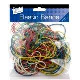 Coloured Elastic Bands 100gram bag £1 in Poundland