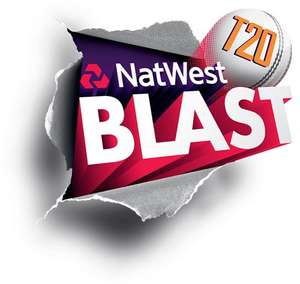 Notts Outlaws v Lancashire Lightning T20 Blast @ Trent Bridge on Fri 16/5. Adult tickets bought in advance are reduced to £10 (from £14)