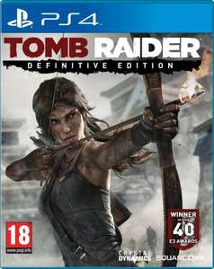 (PS4/XB1) Tomb Raider Definitive Edition - £25.00 with code  - Tesco Direct