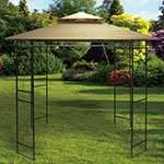 Steel Gazebo - 2.4M x 2.4M £64.99 delivered  at The Original Factory Shop