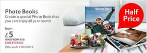 Tesco photo book for half price - £5