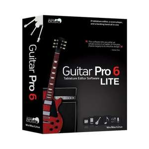 GUITAR PRO 6 LITE VERSION Woodbrass 1euro - £0.83